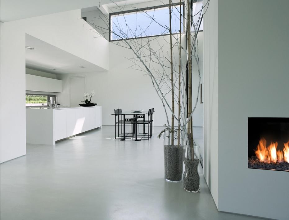 Witte Marmoleum Vloer : Effen pvc vloer profita comfortabel wonen op vloer info pvc